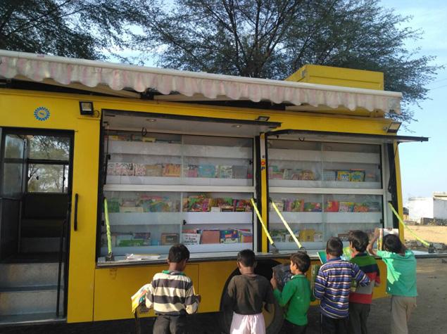 Mobile Library Van 3