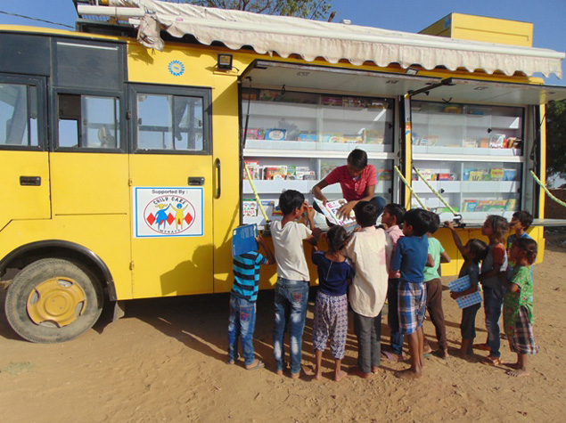 Mobile Library Van 1